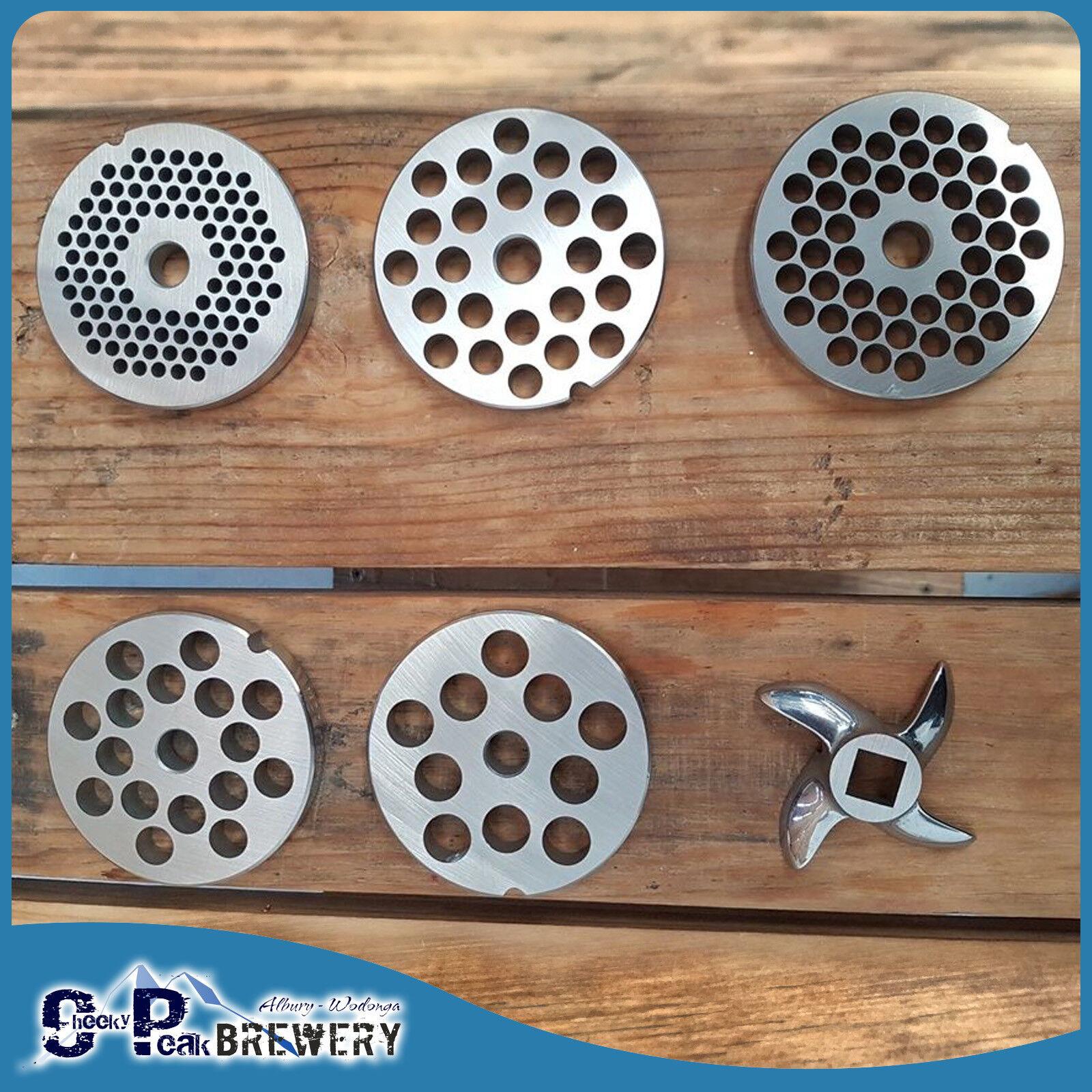 Reber Mincer 22 Mincing Plates Varieties Amp Knifes Diy