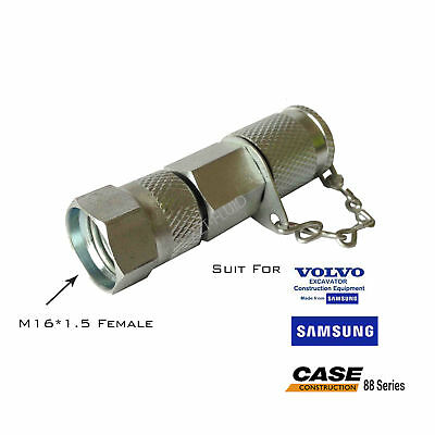 Excavator Construction Machine Quick Check Coupling For Volvo-samsung