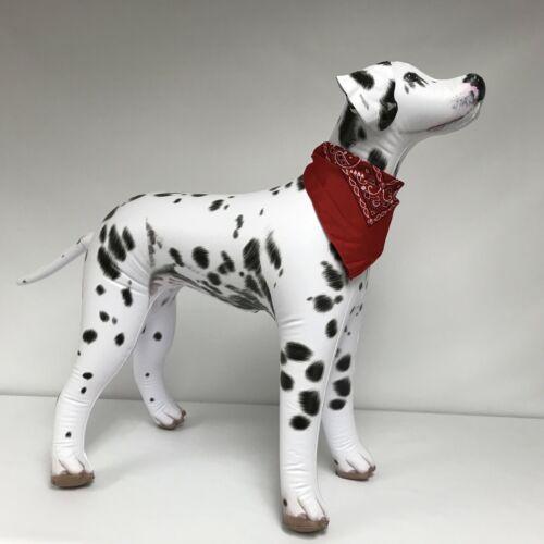 Inflatable Dalmatian Dog Pet Puppy Animal Bandana Party Home Yard Decor Toy Gift