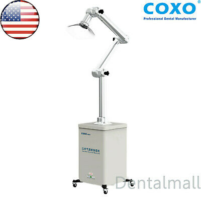 Us Coxo Dental Oral Extraoral Aerosol Suction Machine Droplets Remover Uv 110v