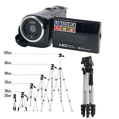 HD 16X Digital LCD Screen Zoom Video Camcorder Camera DV with Tripod US