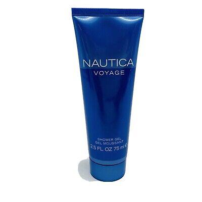 Nautica Voyage Shower Gel Tube 2.5 oz Men's Fragrance Coty Perfume New Body Wash