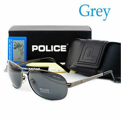 Herren Damen For Police Brille Sunglasses Sonnenbrillen Polarized Glasses + Box
