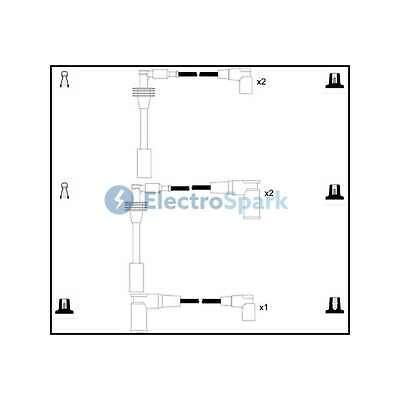 Genuine ElectroSpark Ignition Cable Kit - OEK432