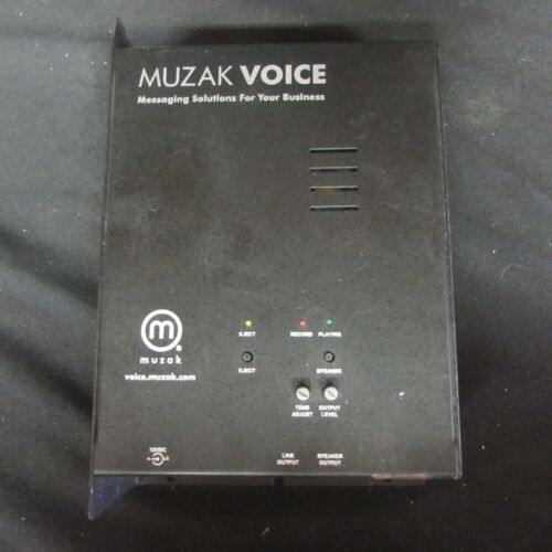 Muzak Voice MZ3020 CD Player Messanging Solutions (B2)