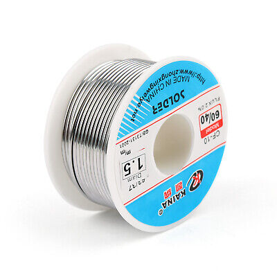1.5mm 100g 6040 Rosin Core Tin Lead Solder Wire Soldering Welding Flux 2.0 New