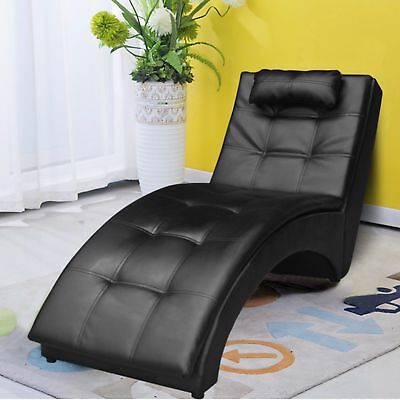 Cloud Mountain Leisure Chaise Lounge Sofa Chair Living Room Furniture