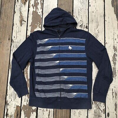HippyTree NOMAD DIVISION Men's Surfboards Full Zip Hoodie Jacket size XL