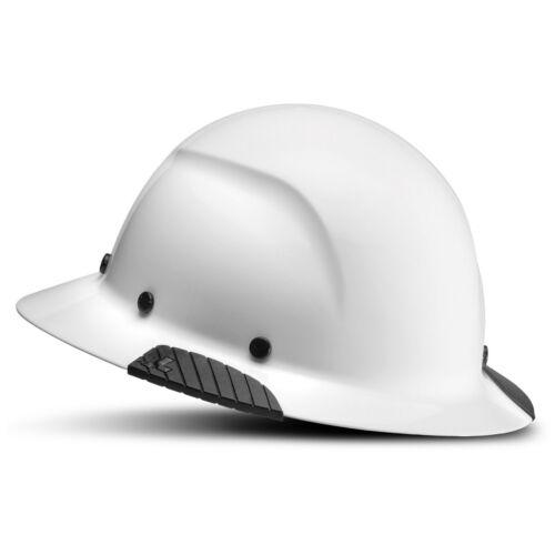 LIFT Safety HDF-15 DAX Full Brim Hard Hat - Ratchet Suspension - White