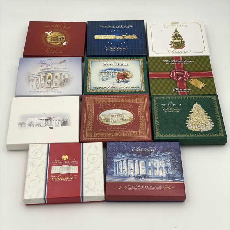 The White House Historical Association Annual Christmas Ornament Collection (11)