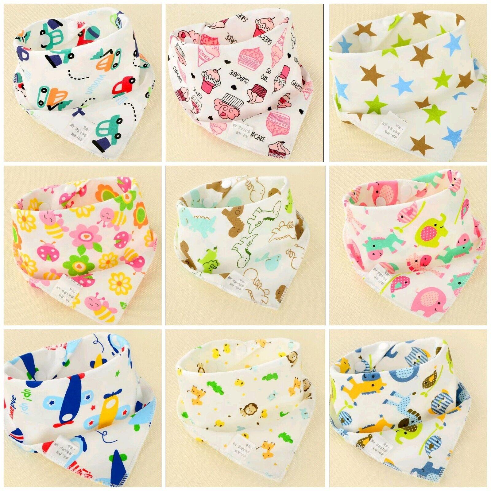 Baby Kleidung, Schuhe & Accessoires 7 Tage Lätzchen Set Baby Wasserdicht Doppellagig Klettverschluss Frottee+folie
