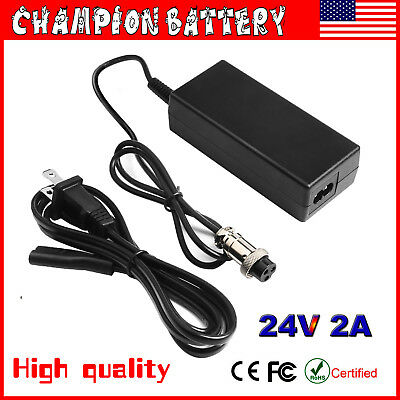 Razor Battery Charger for e200 e300 PR200 Pocket Mod Sports Mod and Dirt (Razor Sport Mod Electric Scooter)