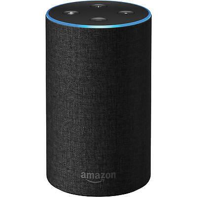 Amazon Echo - 2nd Generation - Smart Assistant / Wireless Speaker - Charcoal