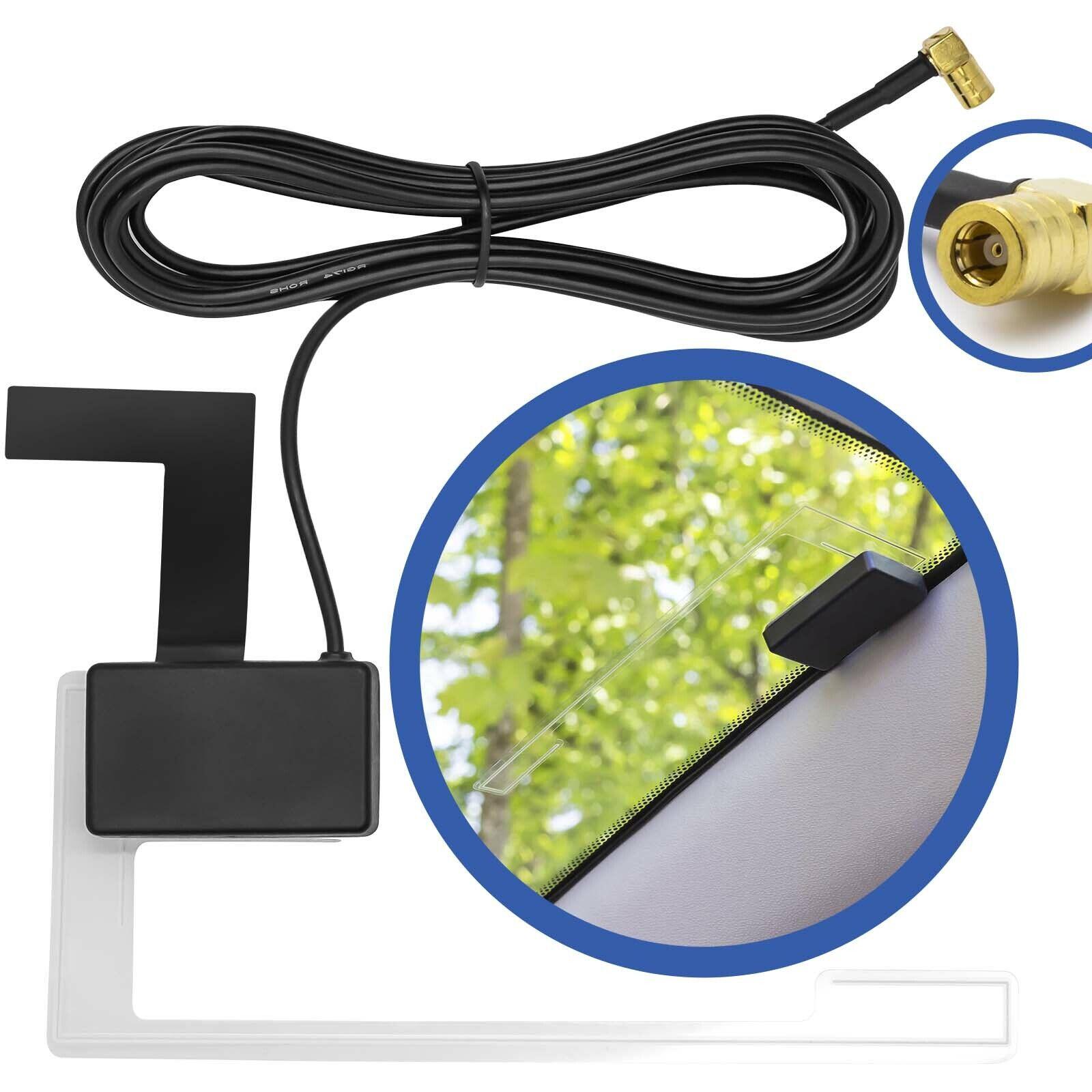 DAB Antenne Splitter Adapter Aktiv f/ür JVC Kenwood Sony Alpine Pioneer Radio