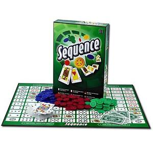 SEQUENCE BOARD GAME BY WINNING MOVES / AN EXCITING GAME OF STRATEGY / AGE 8+