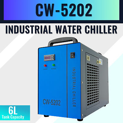 Cw-5202 Industrial Water Chiller For 60-150w Co2 Laser Engraving Cutting Machine