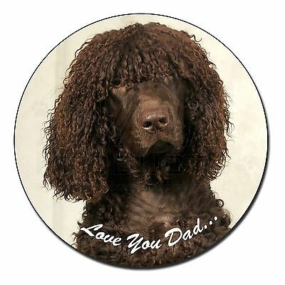 Irish Water Spaniel 'Love You Dad' Fridge Magnet Stocking Filler Chris, DAD-59FM