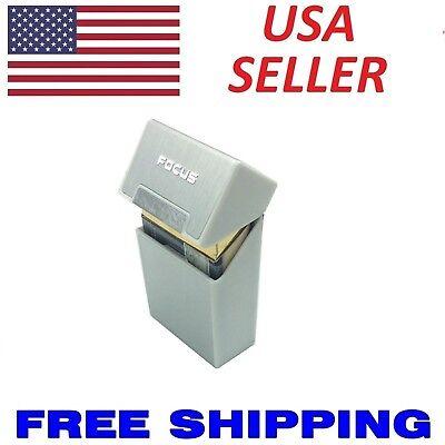 (Cigarette Tobacco Cigar Case Holder Aluminum Pocket Box Container Pack SHORT NEW)