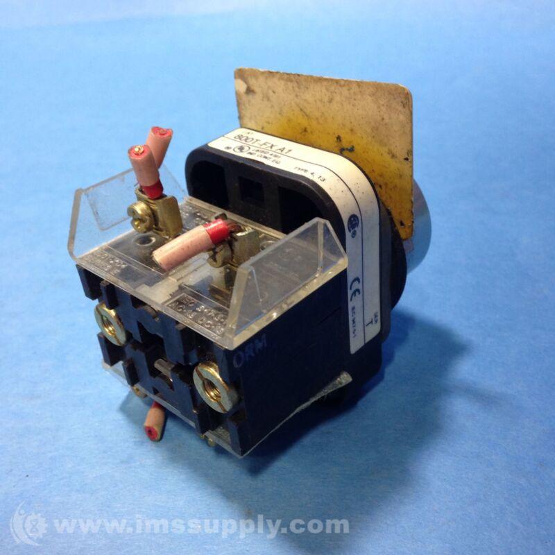 Allen Bradley 800T-FXA1 Push-Pull Device USIP