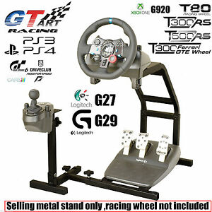 GT ART Racing Simulator Steering Wheel Stand for G27 G29 PS4 G920 T300RS 458 T80