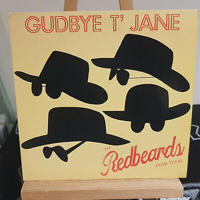 "The Red Beards From Texas ‎– Gudbye T' Jane 7"" single in picture sleeve RRS 1001"