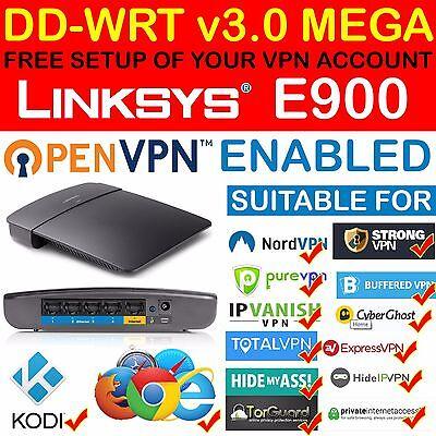 - *NEW* FREE VPN ACCOUNT SETUP OPENVPN PPTP DD-WRT MEGA LINKSYS E900 ROUTER