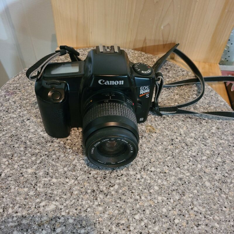 EOS Rebel S II with Canon 35-80 mm Lens