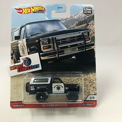 '85 Ford Bronco * 2020 Hot Wheels WILDTERRAIN Car Culture Case Q * IN STOCK