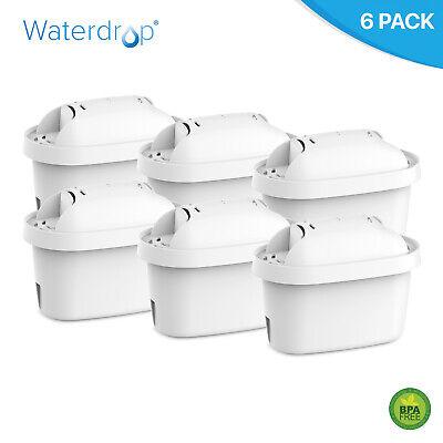 6x Universal Jarra Agua Filtro Recambio para Brita Maxtra Mavea & Bosch...