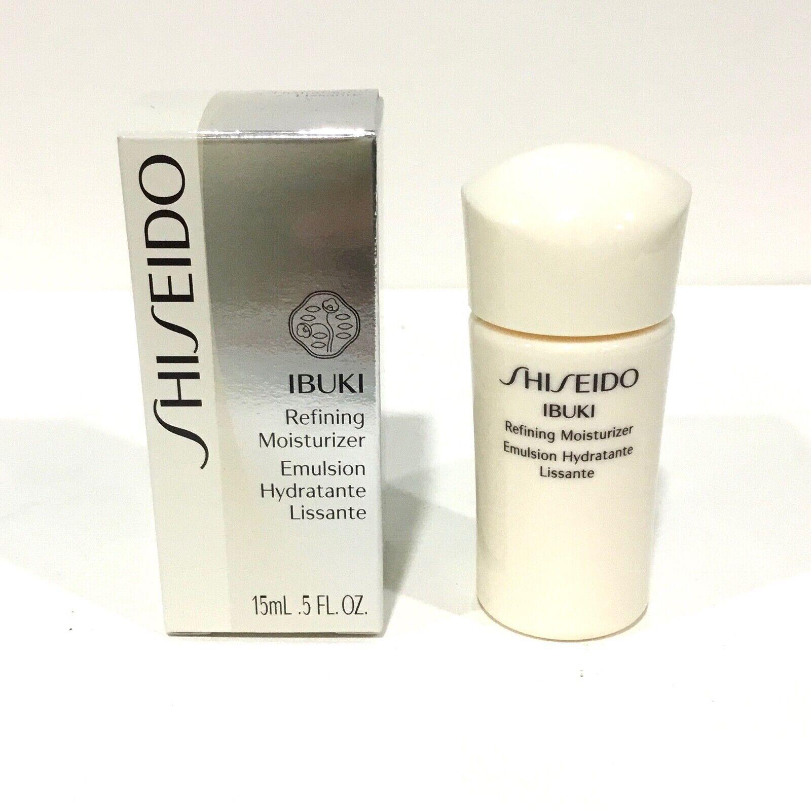 4 Shiseido IBUKI Refining Moisturizer 15ml. / 5fl.oz. New in