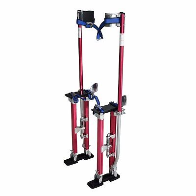 Steel Core 18 In. - 30 In.. Adjustable Aluminum Drywall Stilts Tool For Painting