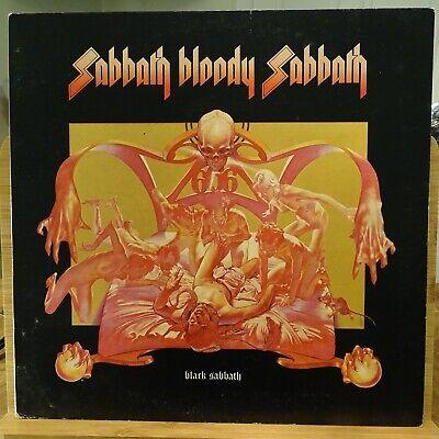 Sabbath Bloody Sabbath Black Sabbath 1973 Original UK Vinyl LP