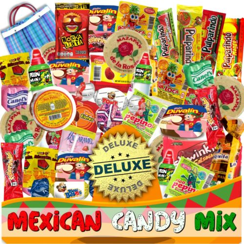 Mexican Candy Mix (86 Count) Variety Of SPICY and SWEET Bulk Dulce Mexicano