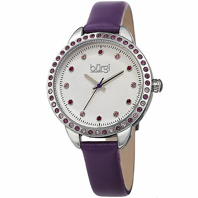 Burgi Women's Classsic   BUR161PU Wrist Watch