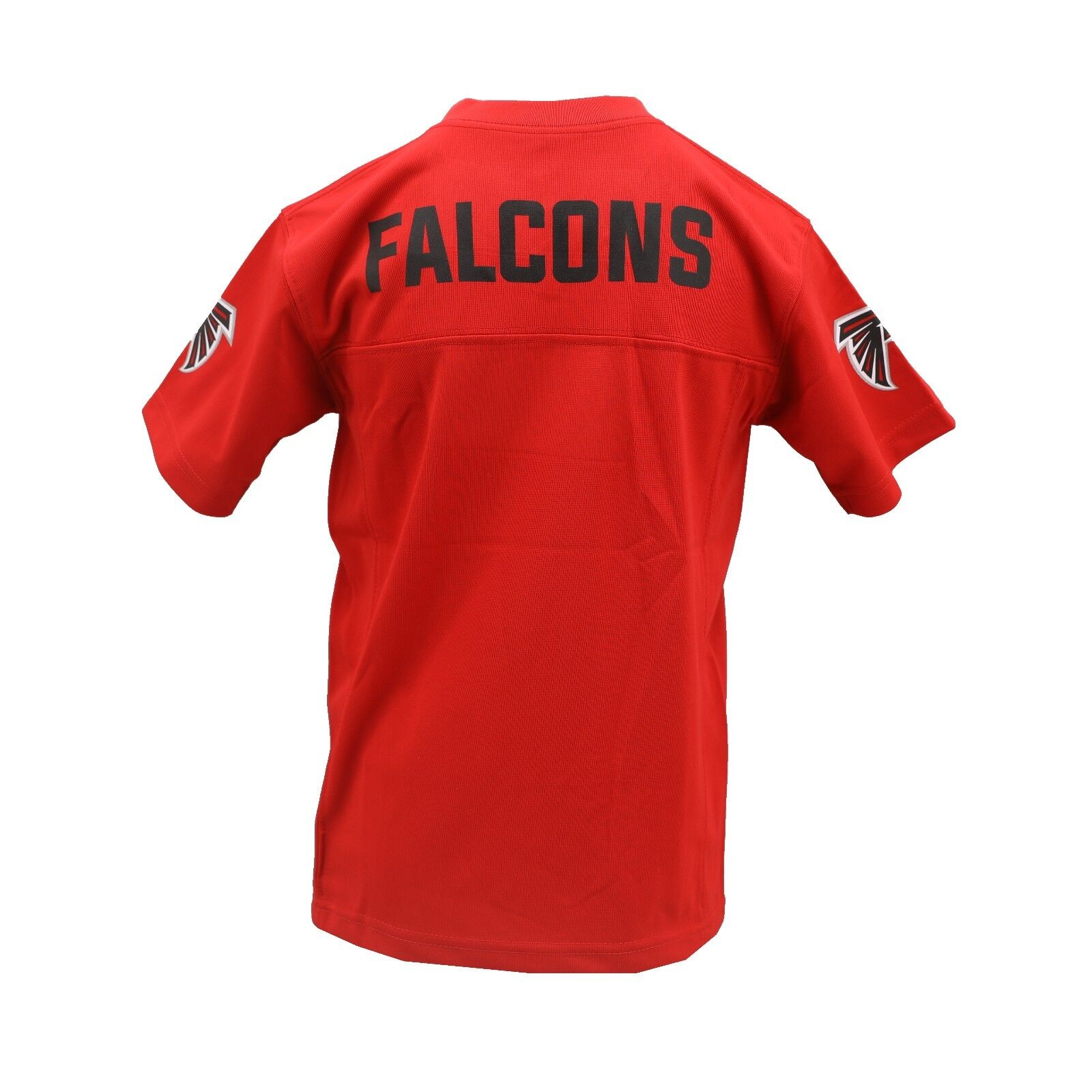 2a83c160 Details about Atlanta Falcons Official NFL Apparel Kids Youth Size  Distressed Jersey New Tags