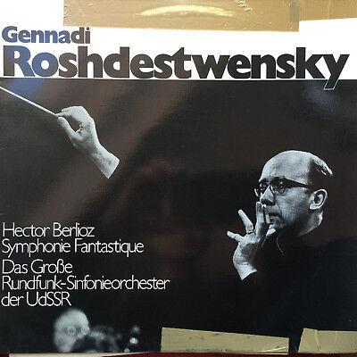 GENNADI ROSHDESTWENSKY - Berlioz  Fantastique -  Vinyl LP F15