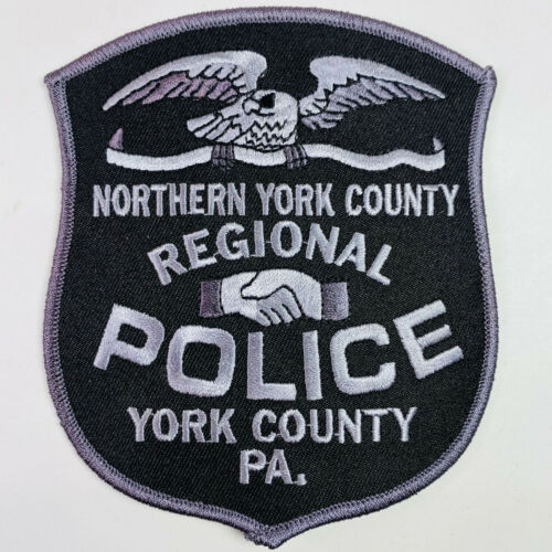 Northern York County Regional Police Pennsylvania PA Subdued Patch (A5)