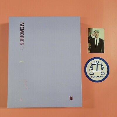 BTS DHL Memories of 2018 DVD JIMIN Photo Card Good rare Freebies for ARMY oop