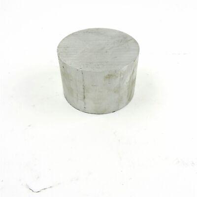 4.25 Diameter 6061 Aluminum Round Bar 2.5 Long Stock Pieces 2 Sku 199276