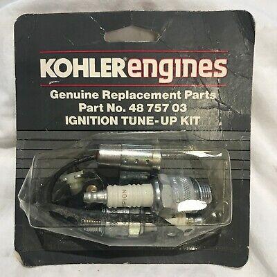 Genuine Kohler Ignition Tune Up Kit Fits K582 48 757 03 4875703 48-757-03