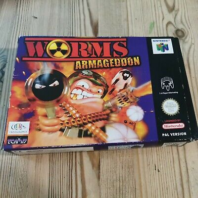 Worms Armageddon for Nintendo 64 N64. Cart Only. Pal