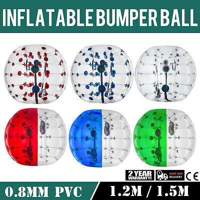 Clear Inflatable Ball (1.2/1.5M Body Inflatable Bumper Football PVC Zorb Ball Bubble Soccer)