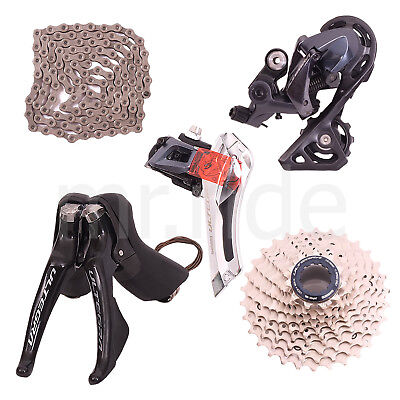 Shimano Ultegra R8000 5pc Group set,Shifter,Derailleur,Cassette 11-30T,ShortCage