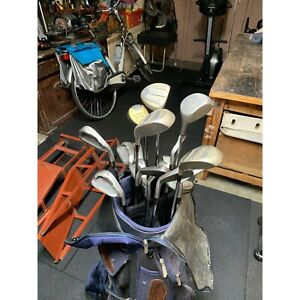 Golf clubs - set and a few extras