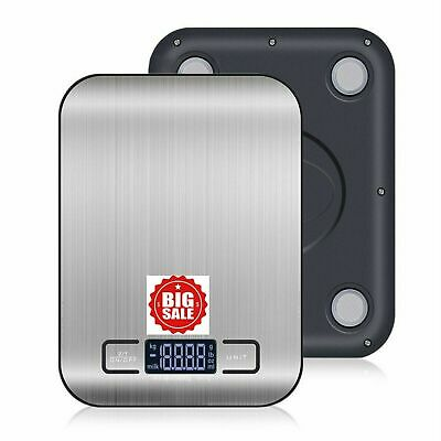 Digital Postal Kitchen Scale Electronic Postage Shipping Letter Food Calories