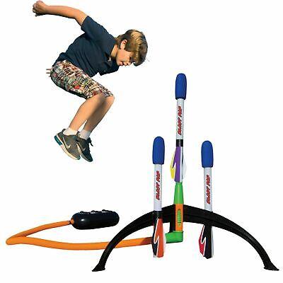 Marky Sparky Blast Pad Rocket Launcher w/ 3 Rockets