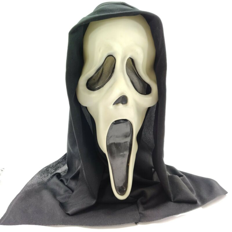 Vintage Scream Ghostface Mask Fun World Div Fearsome Faces Untagged