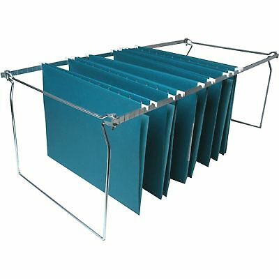 Business Source Hanging File Folder Frames Legal 6bx Stainless Steel 36