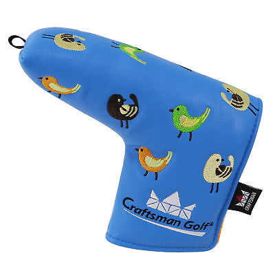 Blue Putter Cover Blade Headcover For Scotty Cameron Yes Ping Putters Magnetic ()