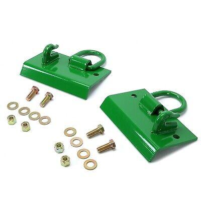 Bolt-on Compact Tractor Grab Hooks D Rings For John Deere 1025r 2032r 3320